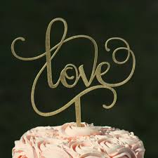 engagement cake toppers gold wedding cake topper wooden cake topper engagement
