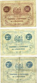 chambre de commerce libourne banknotes emergency notes libourne 33 chambre de commerce