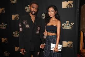 big sean likes to kiss jhené aiko u0027s detailed tattoo of his face spin