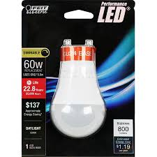 Led Light Bulb Dimmable by Feit Electric Led Light Bulb U2013 60w Equivalent Daylight 5000k