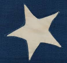 Flag Of Massachusetts Jeff Bridgman Antique Flags And Painted Furniture Early 13 Star