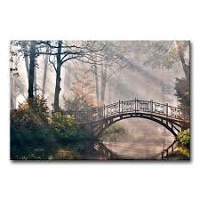 amazon com canvas print wall art painting for home decor tranquil