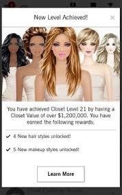 unlock covet fashion hairstyle level 17 covet pinterest