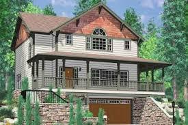 hillside garage plans 19 3 car garage house plans daylight basement daylight basement