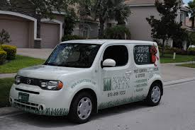 cube cars inside pest control services in tampa bay area