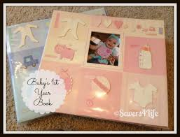 baby 1st year book diy baby s 1st year book savers4life