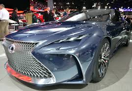 future cars brutish new lexus hydrogen car inhabitat green design innovation architecture