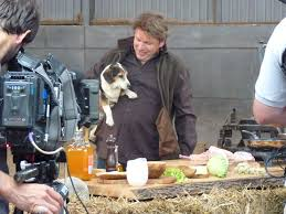 even lucy the dog had a staring role in bbc2 james martin u0027s food