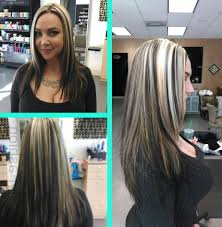 hair platinum highlights platinum highlights on brown hair hairstyle picture magz