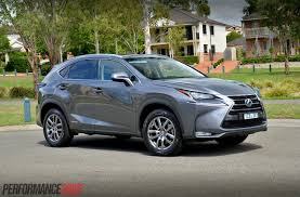 lexus harrier 2016 2015 lexus nx 300h luxury review video performancedrive
