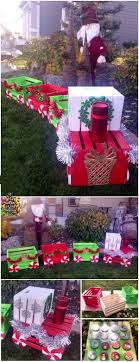 diy lighted outdoor christmas decorations amazing diy outdoor christmas decoration ideas for creative wood