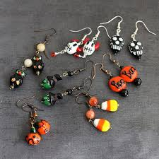 halloween u2013 polymer clay beads