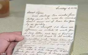 dorothy lynn farnham wwii era love letters wash ashore in new