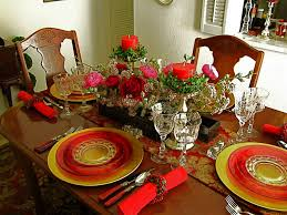 modern christmas table settings interesting easy fall table decorations furniture christmas party