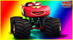 lightning mcqueen monster truck videos cartoon cars series 11 lightning mcqueen monster truck
