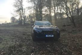 maserati road the new maserati levante suv tested on and off road
