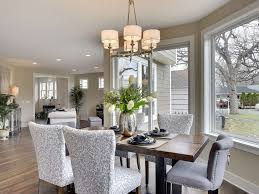 Traditional Dining Room With Hardwood Floors  Chandelier In Edina - Traditional dining room chandeliers