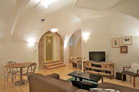 Living And Dining Two Bedroom Vault Apartment Prague 1 Old Town Prague Stay