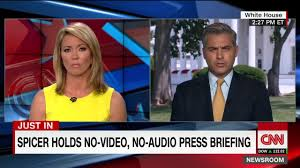 cnn reporter jim acosta miffed by white house press briefing