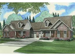 Multi Family Homes Floor Plans Sunset Farm Luxury Duplex Plan 055d 0060 House Plans And More