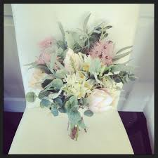wedding flowers eucalyptus australian made australian pastel soft bridal bouquet