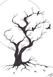 black tree by elerwen on deviantart