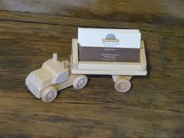cool business card handmade wood truck business card holder walnut stained desk