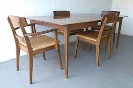 furniture cheap mid century dining table and chairs set how to