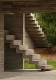 Cement Stairs Design Modern House Costa Esmeralda House By Bak Architects Keribrownhomes