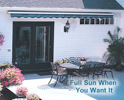 Sun Awnings For Decks Sunsetter Patio Cover Canopies And Porch Covers