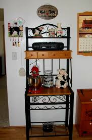 Cheap Bakers Racks Accessories Appealing Townsend Bakers Rack Racks Corner For