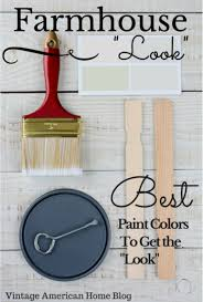 Living Room Colors Oak Trim Fixer Upper Farmhouse U201clook U201d Paint Colors U2013 Decorate Like The Pros
