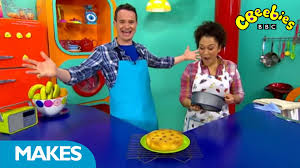 cbeebies presenters make pineapple upside down cake youtube