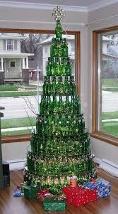 wine bottle christmas ideas so does this i can make a silver tree w vodka bottles