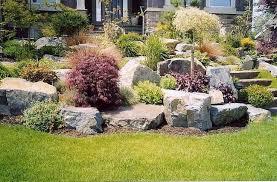 Big Rock Garden Big Garden Rocks Collection In Large Rock Landscaping Ideas Garden