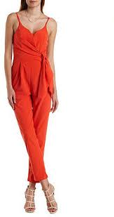 jumpsuit russe russe mustard seed plunging ruched wrap jumpsuit where