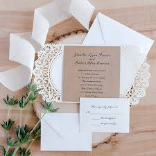 paper invitations country pink paper flower rustic laser cut wedding invitations