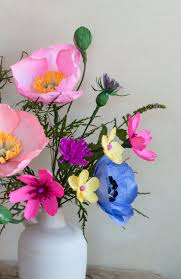 Wildflower Arrangements by 90 Best Diy Paper Flowers Images On Pinterest Paper Flowers And