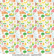 seamless pattern food food seamless pattern vector food seamless pattern vector eps