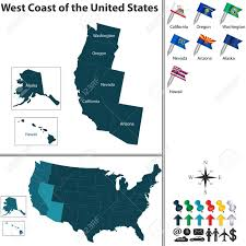 Western Us Map My Blog Western States Wall Map Mapscom Map Usa Map Usa States West Coast 62 Big With Map Usa States West Coast