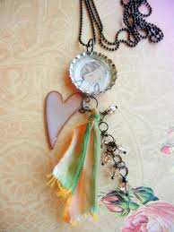 bottle cap necklaces ideas torch fired enamel jewelry ideas u2013 rings and things