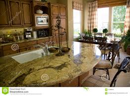 kitchen with island 2 royalty free stock photo image 3168905