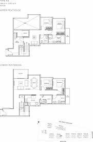 Singapore Floor Plan The Glades Condo Floor Plan U2013 4br Penthouse U2013 P2 U2013 186 Sqm 2002