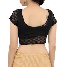 pattern of net blouse buy louis fashion black net blouse online looksgud in