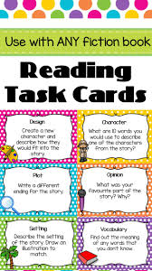 reading task cards great for guided reading includes 44