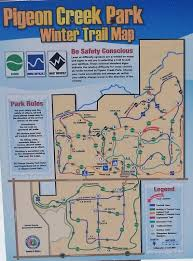 Warren Dunes State Park Map by Pigeon Creek Park Xc Skiing U2013 Winter Day Trip U2013 Mymichigantrips Com