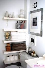 Corner Bathroom Storage by Bathroom Storage 4 Most Creative Bathroom Storage Ideas Black