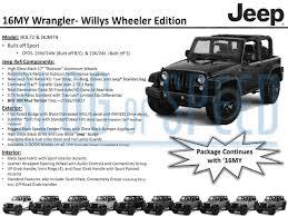 black jeep 2 door 2016 jeep wrangler gets special black bear edition motrolix