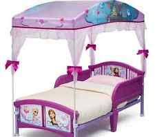 Girls Princess Canopy Bed by Toddler Canopy Bed Disney Frozen Sleep Girls Princess Daughter