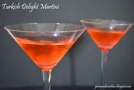 martini drinks gormandize turkish delight martini